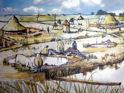 The Bronze Age people were late arrivals to the moor.
