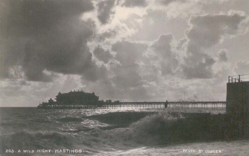 Hastings Pier - Raging Storm