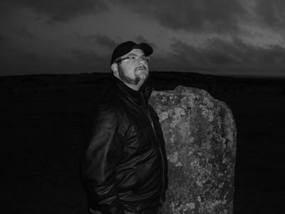 Matt Clark at The Hurlers Stone Circle.