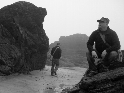 The Pinnacles, with Jonathan Boakes and ghost...